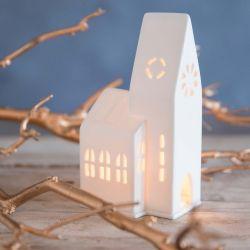 Small Church Tealight Holder Räder