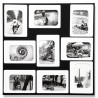 M9 Black&White Magnetic Photo-Frame