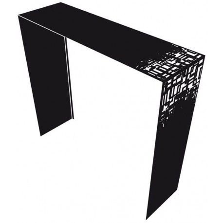 Black console Cubical french design