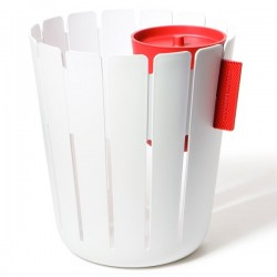 Design office wastebasket