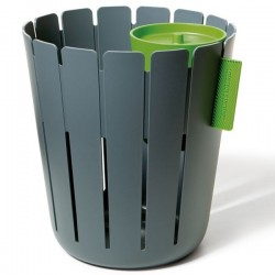 Anthracite grey dustbin