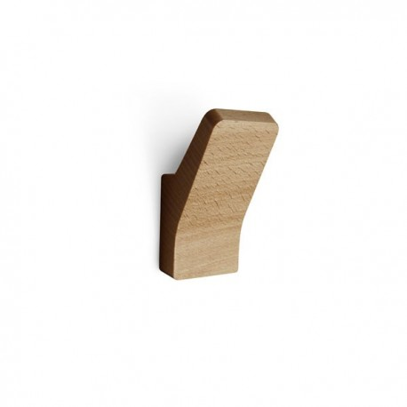 Wooden Hook in solid beech by Reine Mere