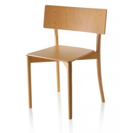 Chaise epmilable en bois