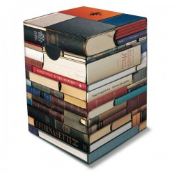 Tabouret  en carton Books