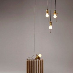 Lampe design Goldie