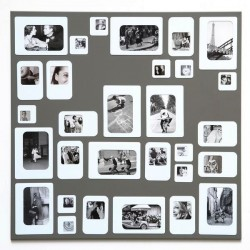 M30 Grey magnetic Photo Frame