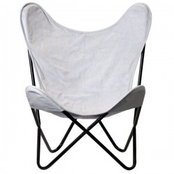 Grey Pop Up armchair