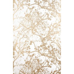 Wilderness wallpaper white