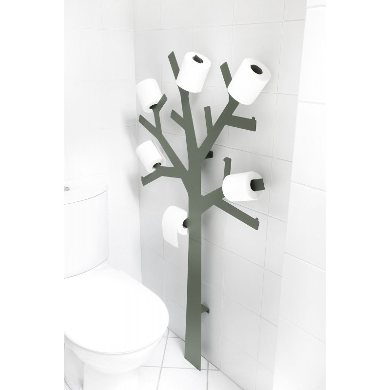 Grey And Design Toilet Paper Holder By Presse Citron