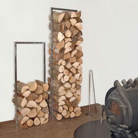 Log rack WoodTower by Raumgestalt