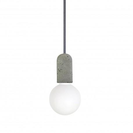 Suspension béton grise