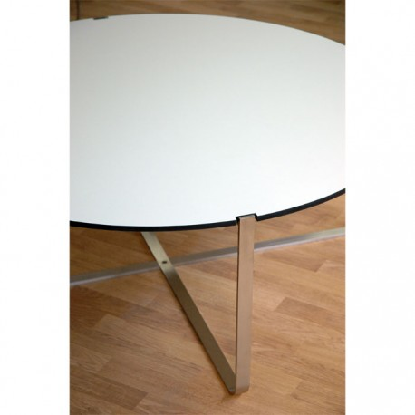 Table basse blanche design