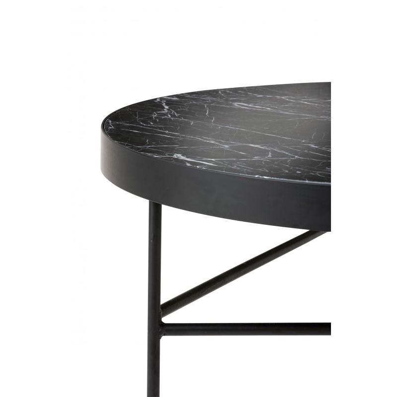 c775e35fd01cb Table basse Marbre noir Ferm Living; Table basse Marble en marbre Ferm  Living ...