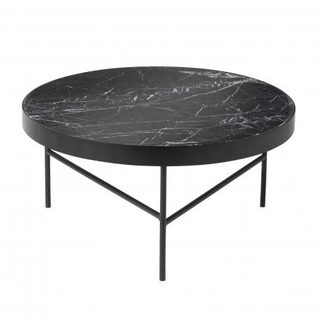 Table basse Marbre noir Ferm Living