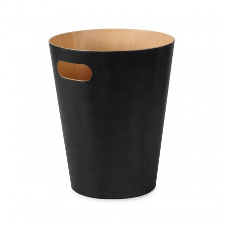Corbeille à papier design noire