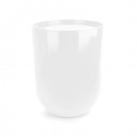 Poubelle blanche de salle de bain Step Umbra