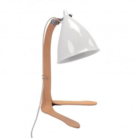 Lampe Cornette à poser en Porcelaine Tsé-Tsé