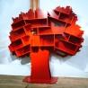Bibliothèque Arbre Tess Rouge