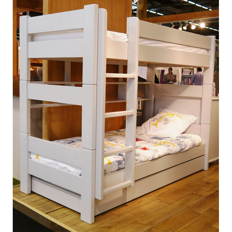 Separable Bunk Bed Mathy By Bols Convertible Double Bed 149 Or 166 Cms Dominique Collection