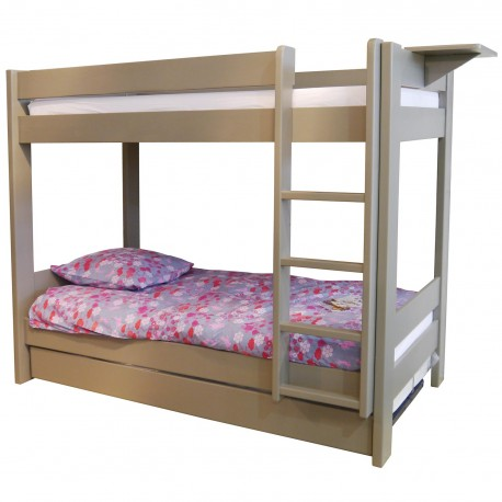 Inseparable bunk bed Dominique ivory beige