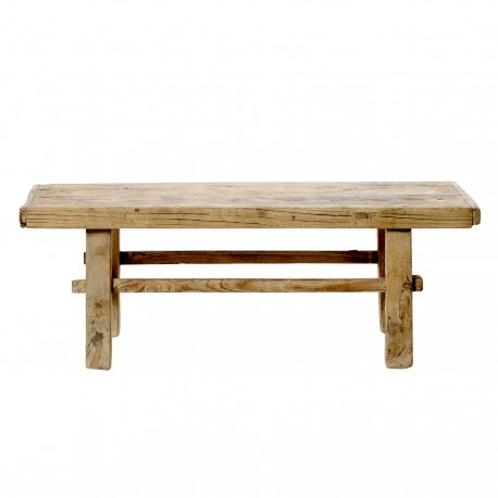 Table basse en bois d'orme ancien brut Bloomingville