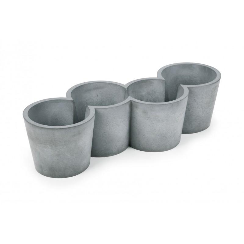 Jardiniere Design En Beton Pot En Beton Pour Plantes Aromatiques