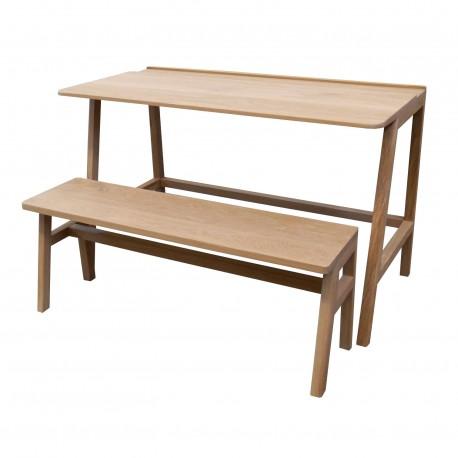 Wooden small desk Vessel