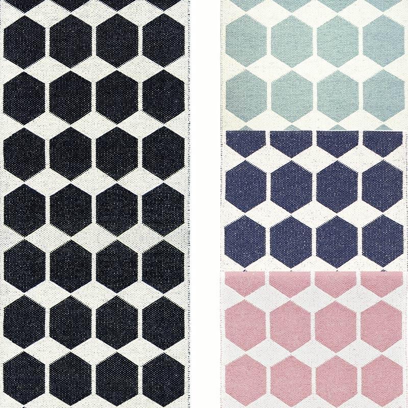 tapis de couloir : tapis long en pvc anna par brita sweden
