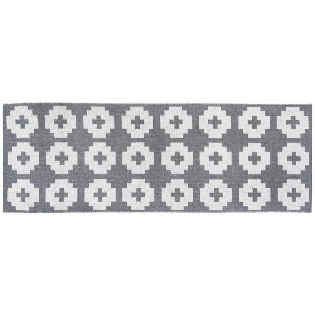 Long runner Flower Grey