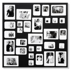 M30 Black magnetic Photo Frame