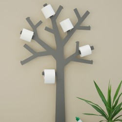 Grey Toilet Paper Holder