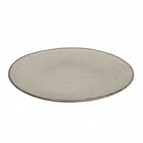 Stoneware dinner plate - Nordic Sand