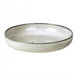 Round dish Nordic Sand