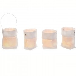 Bag of light - candles jars