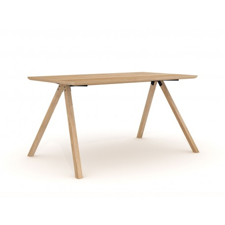 Wooden high table