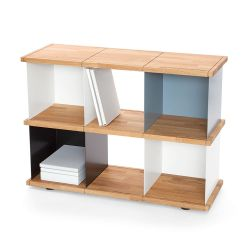Flexible shelf Yu 6 boxes