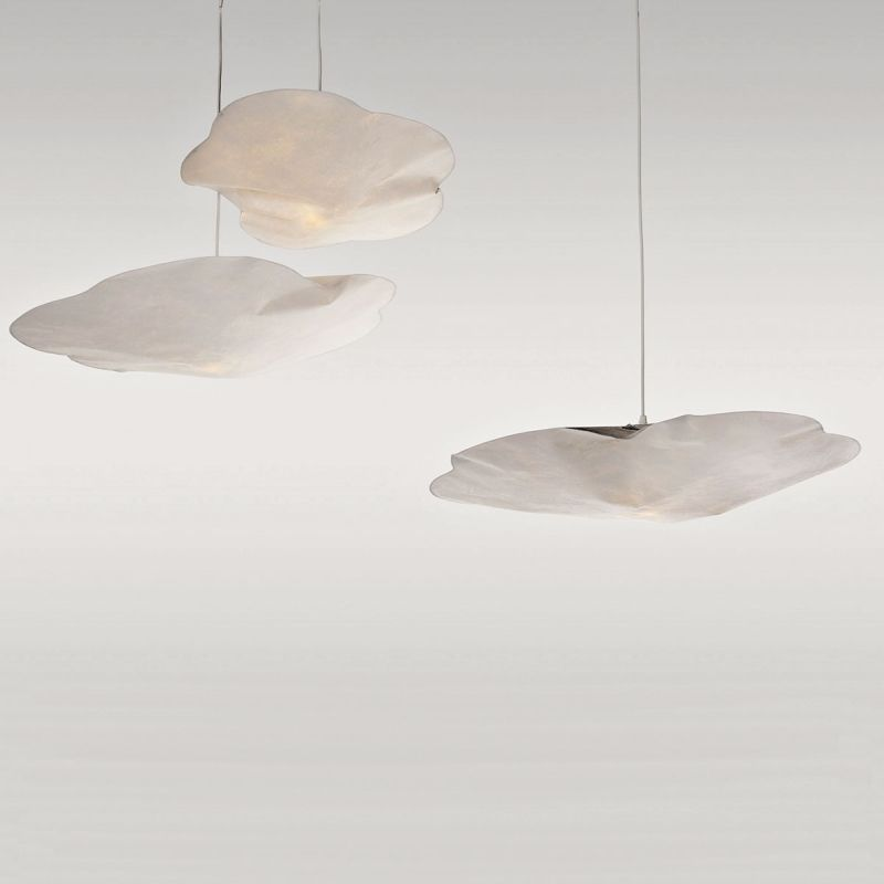Hanging Light Cloud In Paper By Raumgestalt