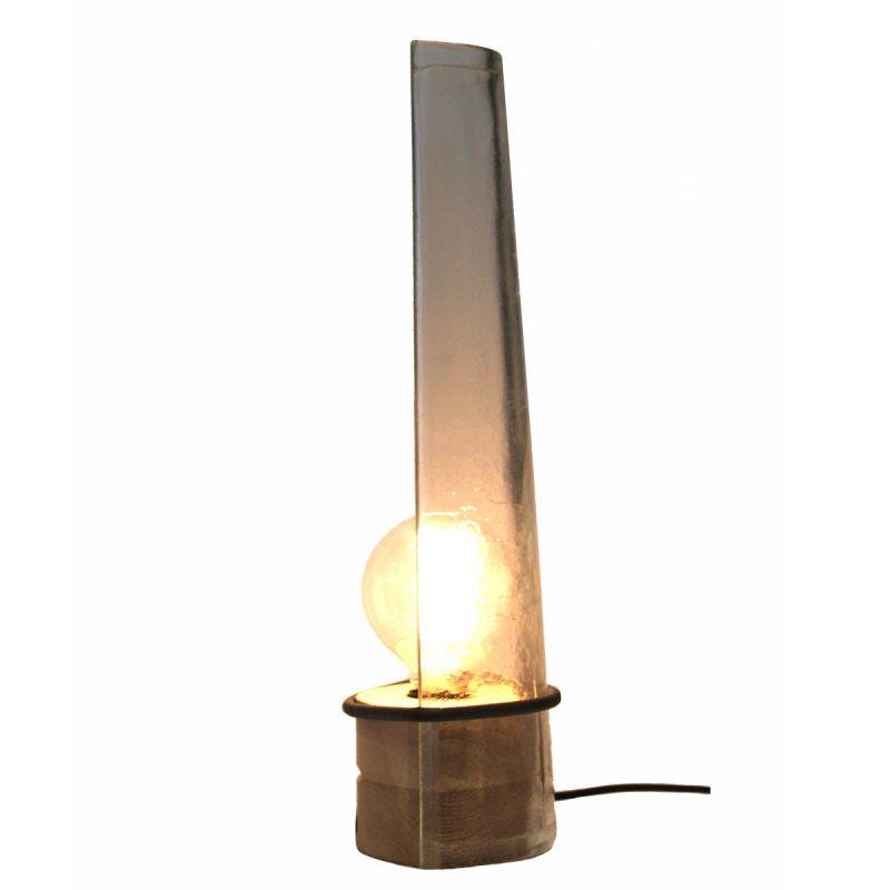 lampe poser industrielle en verre par raumgestalt. Black Bedroom Furniture Sets. Home Design Ideas