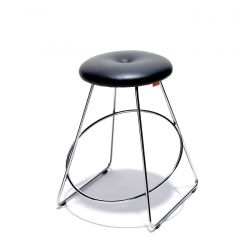 Tabouret en cuir Clown