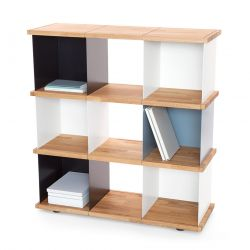 Flexible shelf Yu 9 boxes