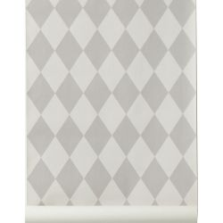Harlequin wallpaper gray