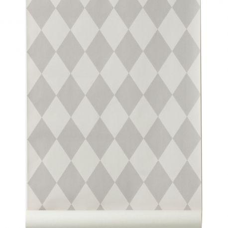Papier peint Harlequin gris