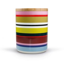 Verano porcelain canister Remember