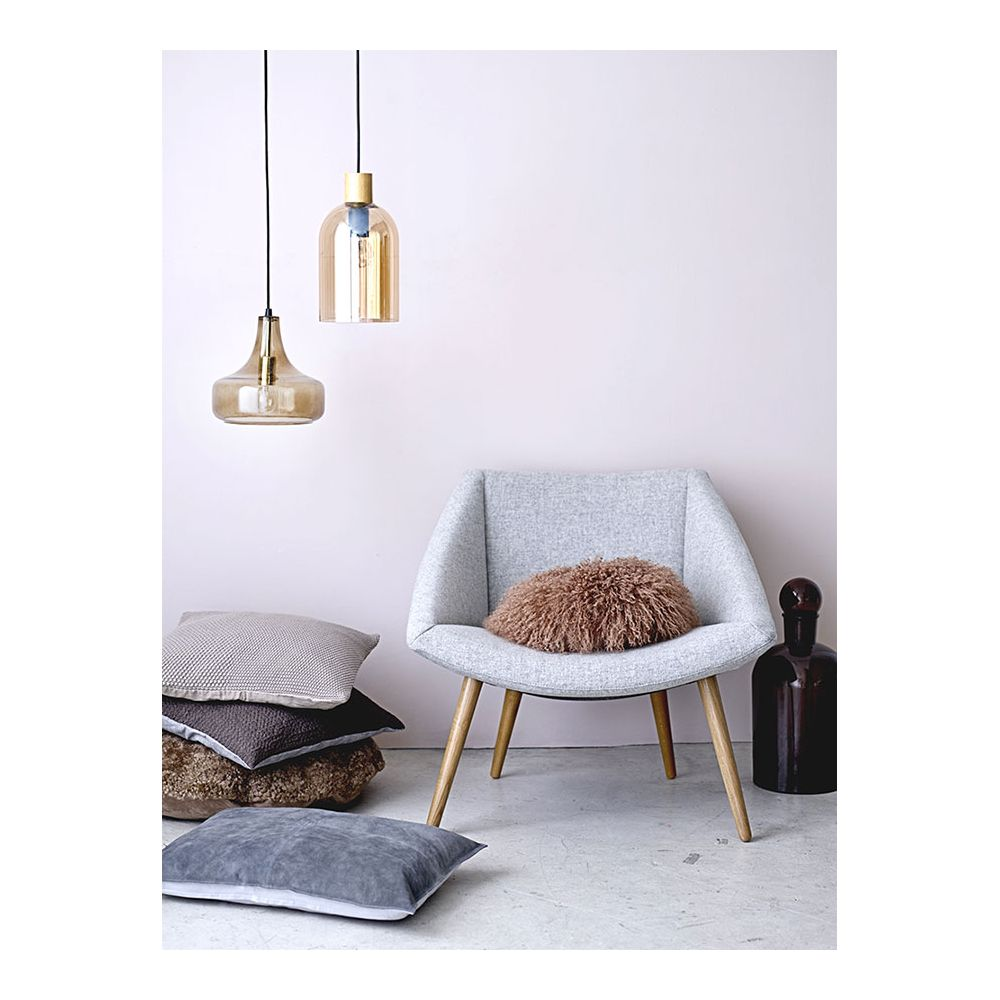Drop Smoked Glass Hanging Lamp Design Bloomingville