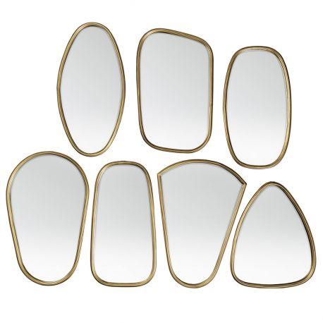 Miroirs cadre laiton doré Broste Copenhagen