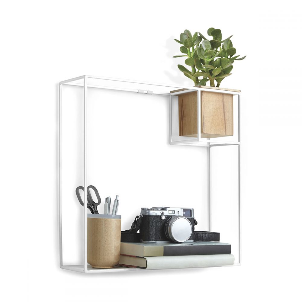 etag re murale carr e en m tal cubist par umbra design. Black Bedroom Furniture Sets. Home Design Ideas