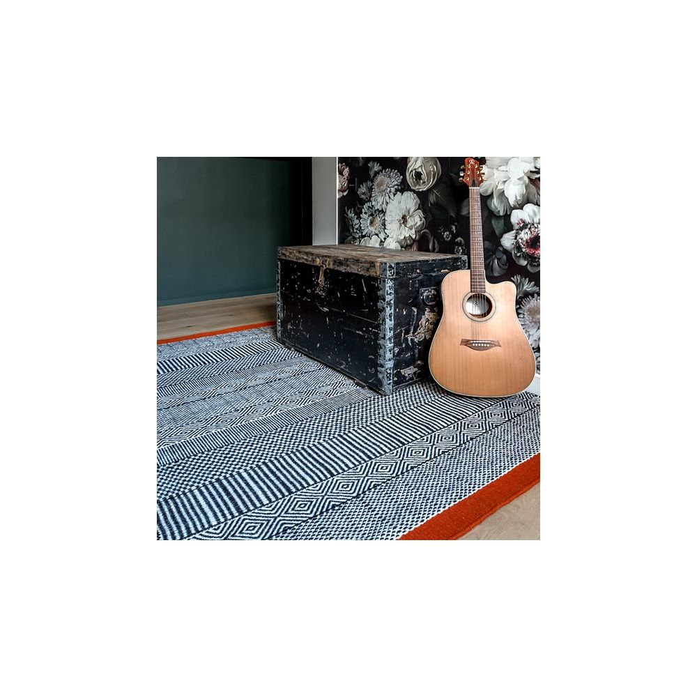 Tapis Tryptik Orange Edito