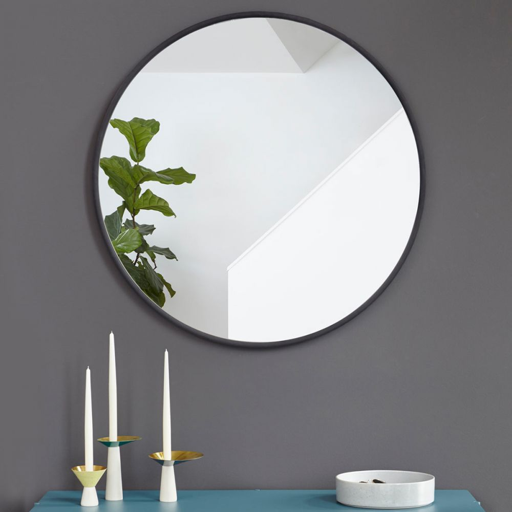 Big Round Mirror Hub By Umbra