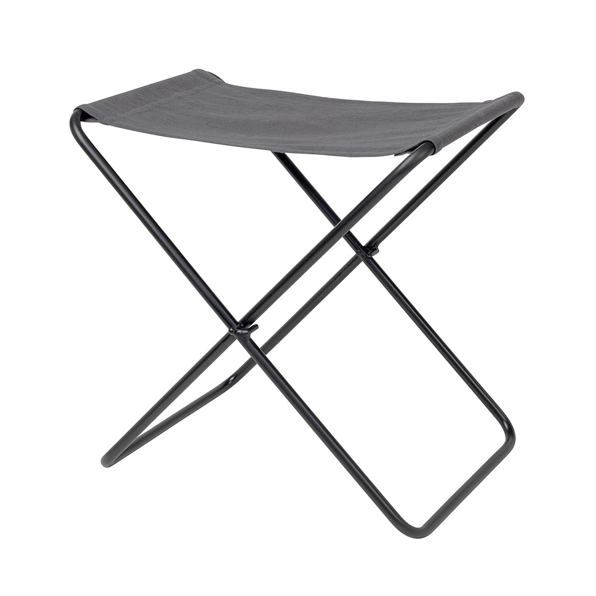 Stupendous Canvas And Metal Folding Stool Nola By Broste Copenhagen Camellatalisay Diy Chair Ideas Camellatalisaycom