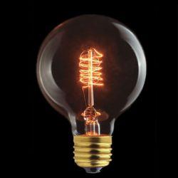 Spiral Filament Globe bulb